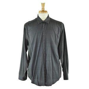 Calvin Klein Button Down Shirt 34 Grey